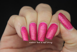 Models Own Glitter Gel Collection Petunia Glitz