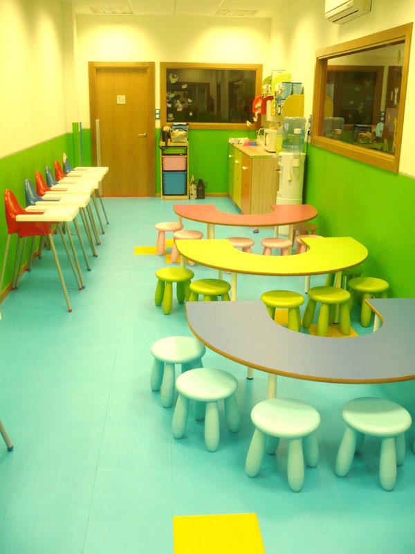 Escuela infantil crecer jugando alimentaci n for Comedor infantil