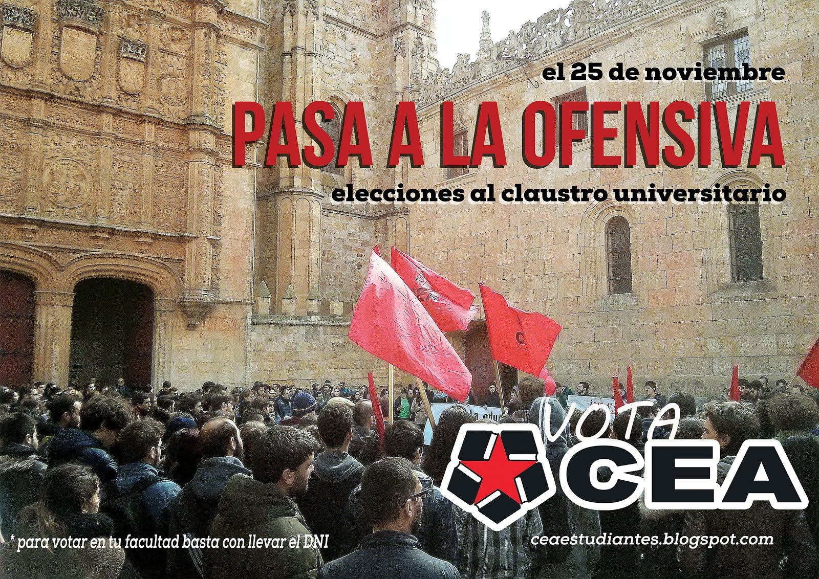 #PasaALaOfensiva #25NVotaCEA