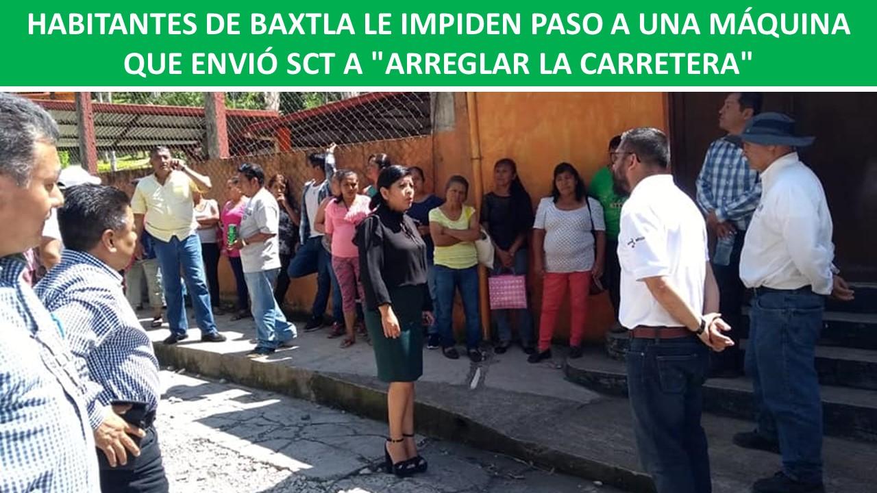 """ENVIÓ SCT A """"ARREGLAR LA CARRETERA"""""""