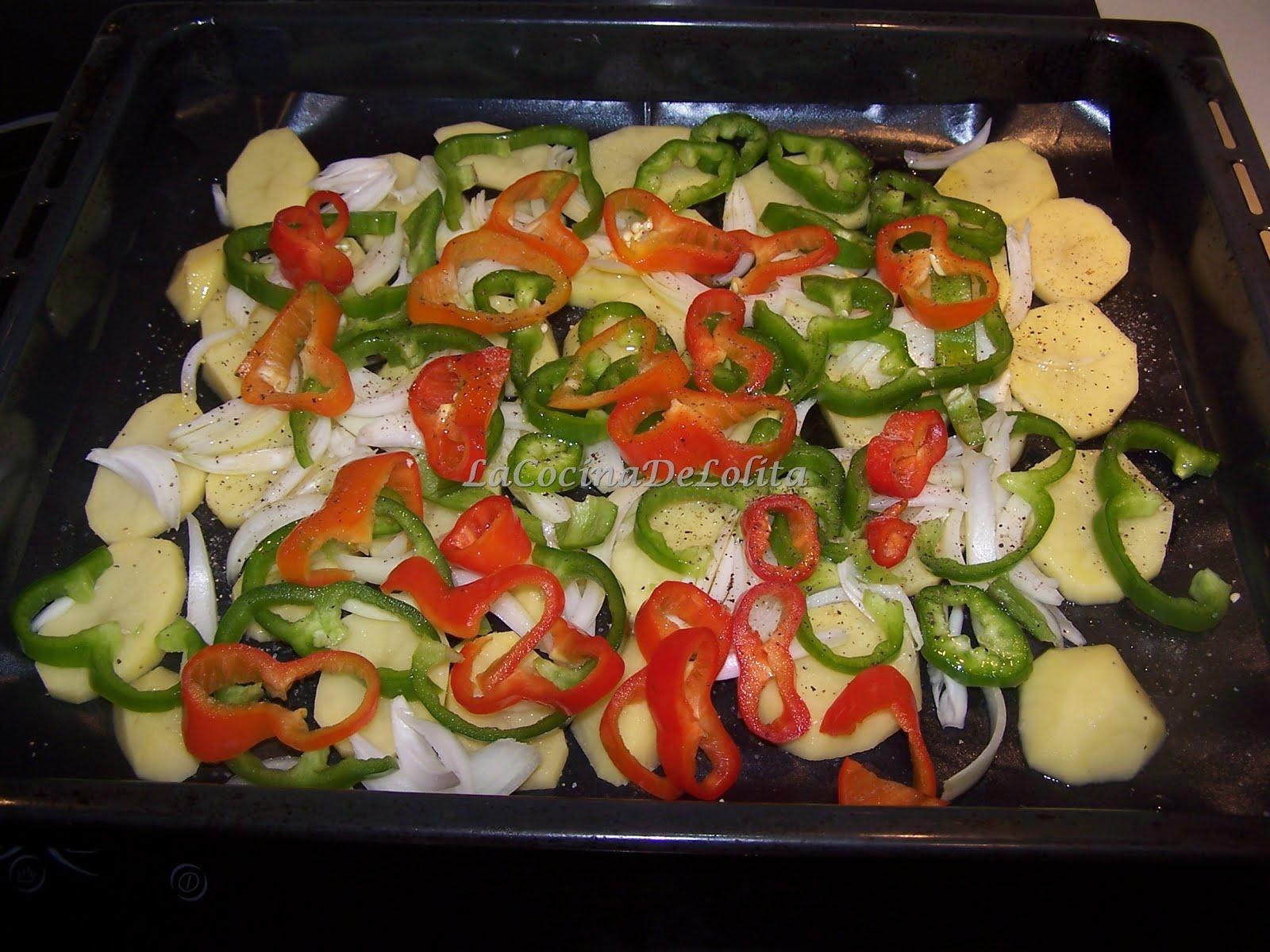 Chuletas de cordero al horno la cocina de lolita - Chuletas de cordero al horno con patatas ...