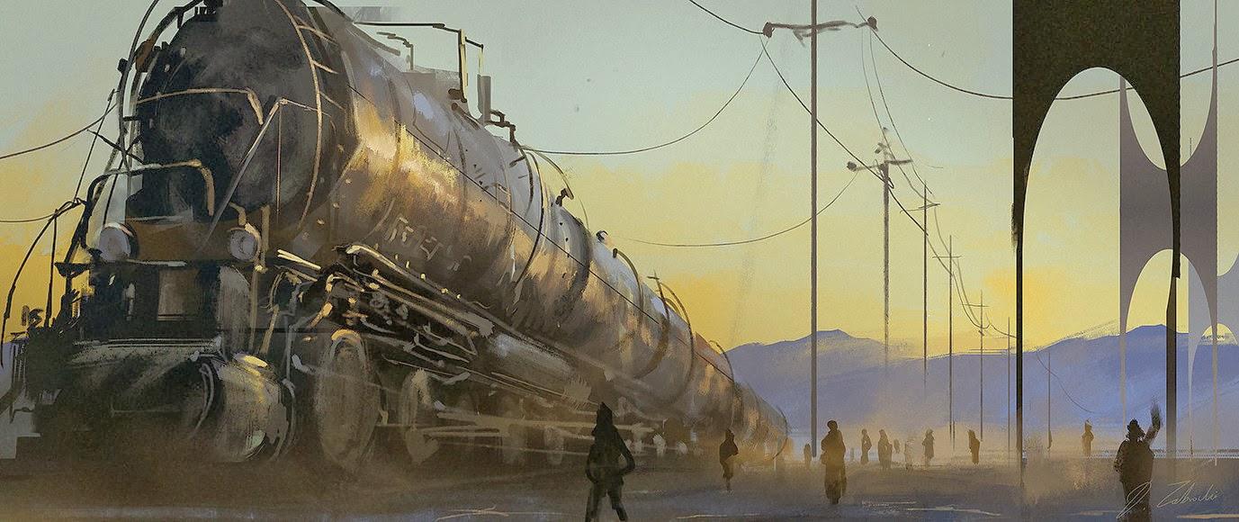 Darek Zabrocki's art