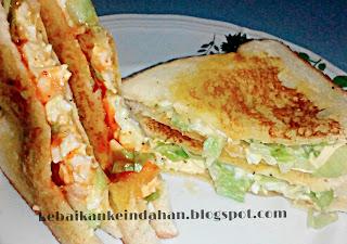 Crunchy Egg Sandwich ッ