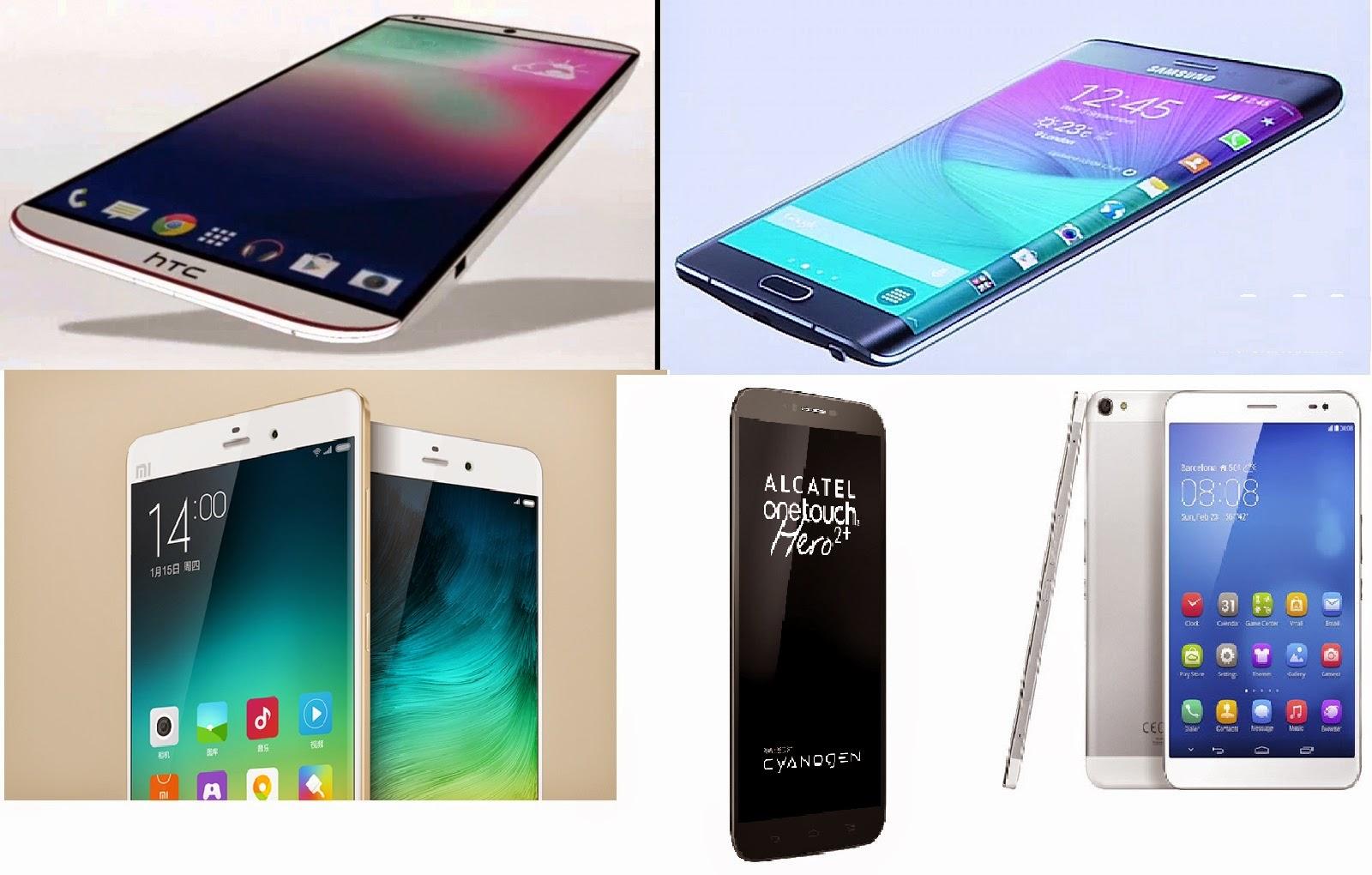 Smartphone Launched in March 2015 Alcatel OneTouch Hero 2+, Microsoft Lumia 640, Microsoft Lumia 640 XL, Lenovo Vibe Shot, Lenovo A7000, Sony Xperia M4 Aqua, Gionee Elife S7, Archos 62 Xenon, ZTE Grand S3, Huawei MediaPad X2, Acer Liquid Jade Z, Acer Liquid Z520, Samsung Galaxy S6 Edge, Samsung Galaxy S6, HTC One M9,