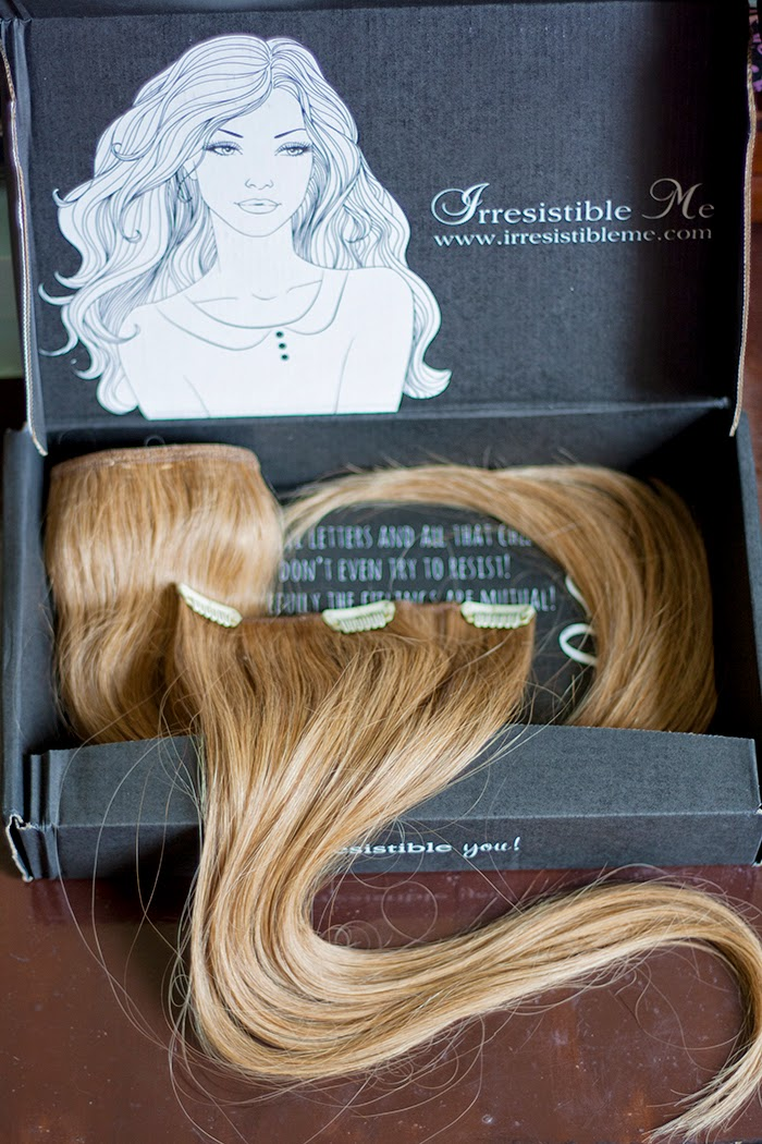 Irresistible Me clip on hair extensions