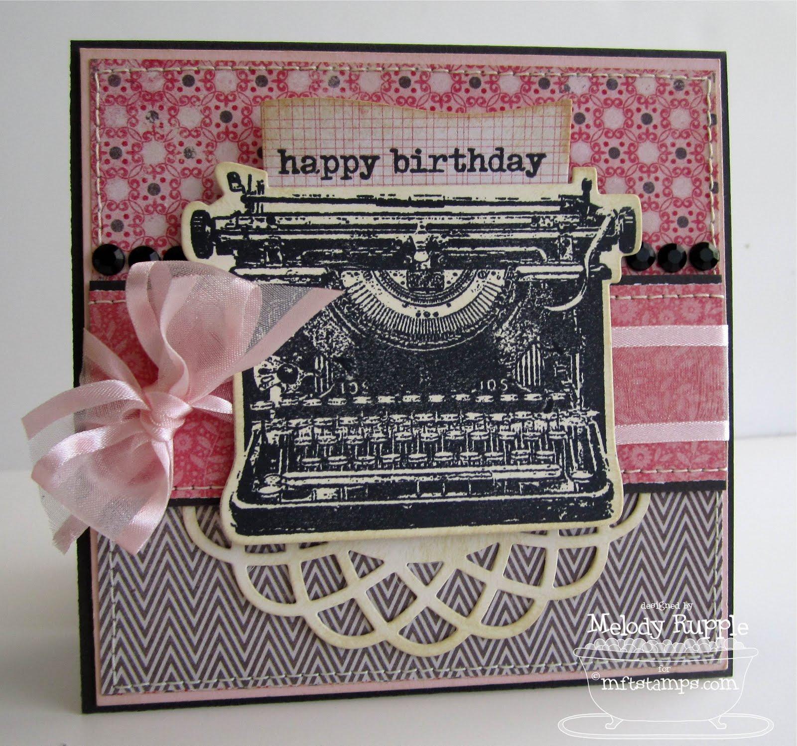 A Paper Melody Happy Birthday Kim