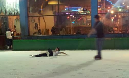 Angelitos en el hielo