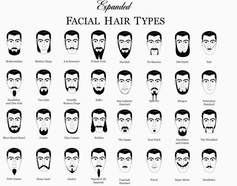 Souvent Choisir son style de barbe : le guide | Rue de la tendance YY38