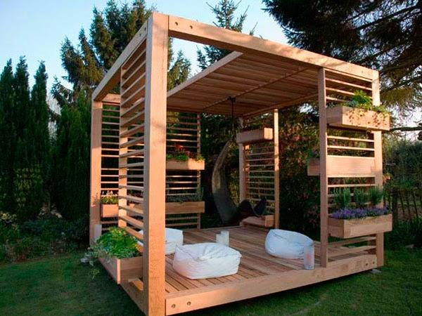 Gallart grupo el blog suelos y puertas de madera en asturias preparar tus muebles de madera - Jardines con madera ...