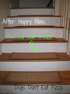 Bare Stair Problem Solved - thediybungalow.com