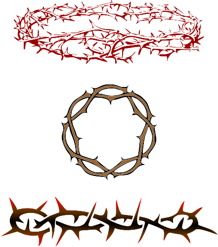 Crown of thorns design