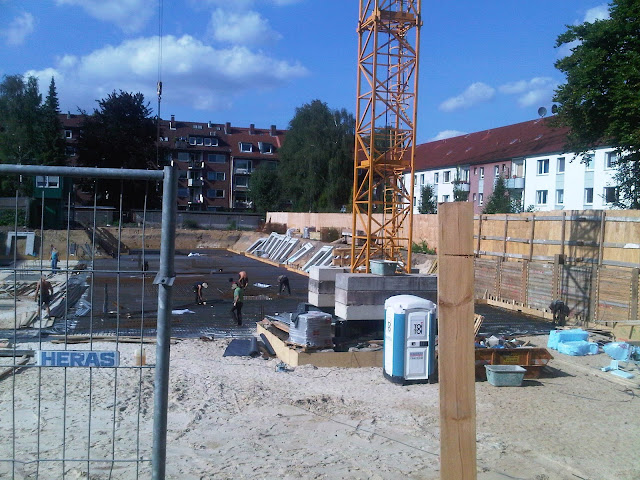 Baustelle Klaus-Groth-Straße - Borgfelde