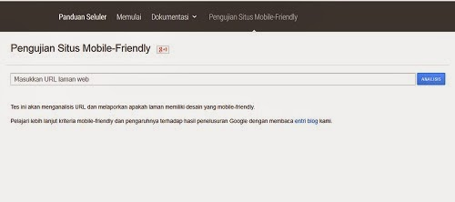 Algoritma mobile friendly Google Terbaru-Blog kang miftah