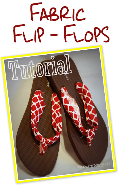 Tutorial for Fabric Flip Flops