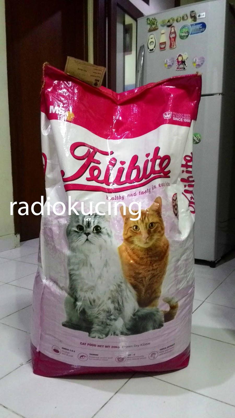 Review Makanan Kucing Felibite Buatan Indonesia Radiokucing Com