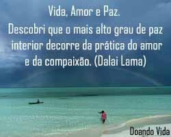 Paz interior e prática do amor