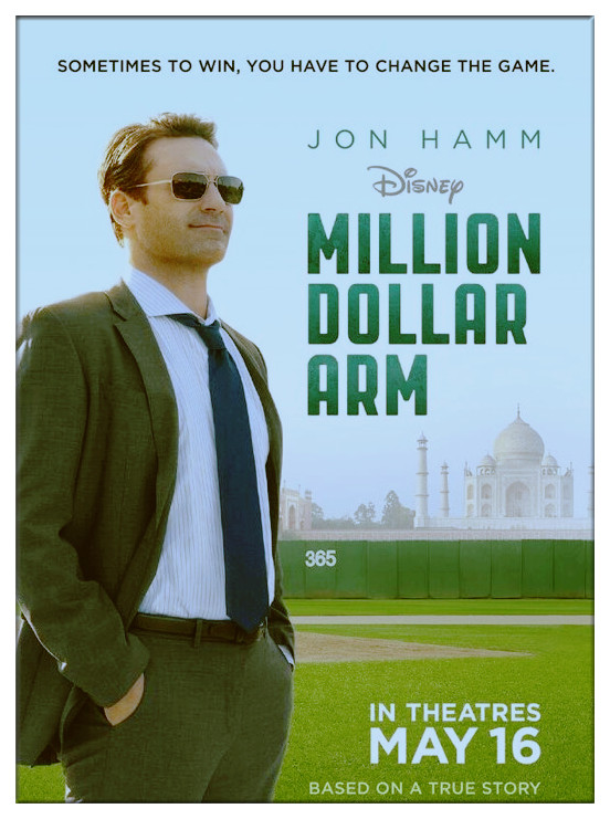 Million Dollar Arm Movie Film 2014 - Sinopsis
