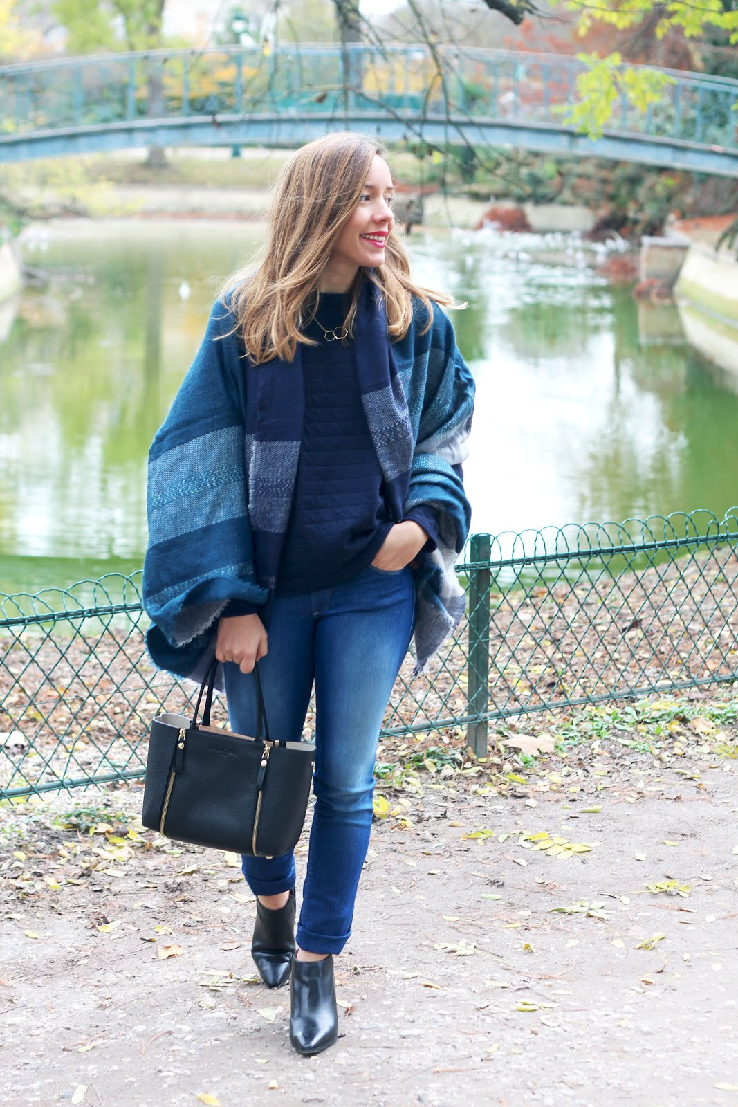 blog mode total look bleu