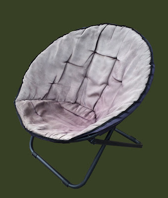 Round Collapsible Futon Chair 35 Sold