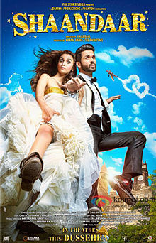 full cast and crew of bollywood movie Shaandaar! wiki, story, poster, trailer ft Shahid Kapoor, Alia Bhatt