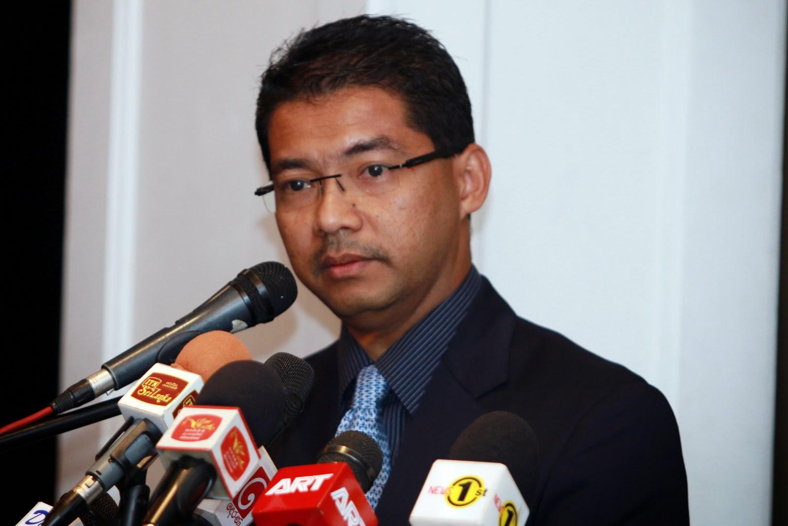 Dato Adissadikin Ali (President/CEO of EXIM Bank Malaysia)