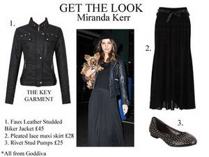 Get The Look: Miranda Kerr: Copy That Look Right Now!