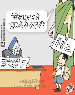 sonia gandhi cartoon, rahul gandhi cartoon, manmohan singh cartoon, congress cartoon, indian political cartoon