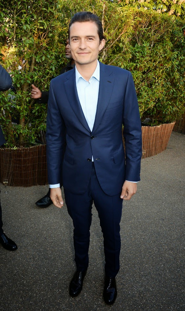 Orlando Bloom at Brioni Serpentine Gallery Summer Party 2014 London