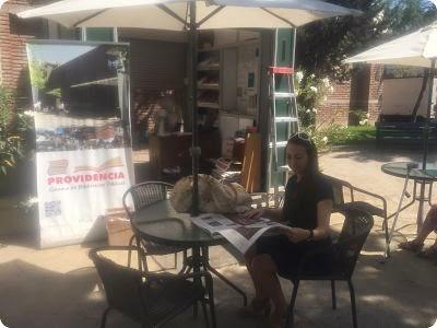 Café Aire Libro Plaza Chile-España