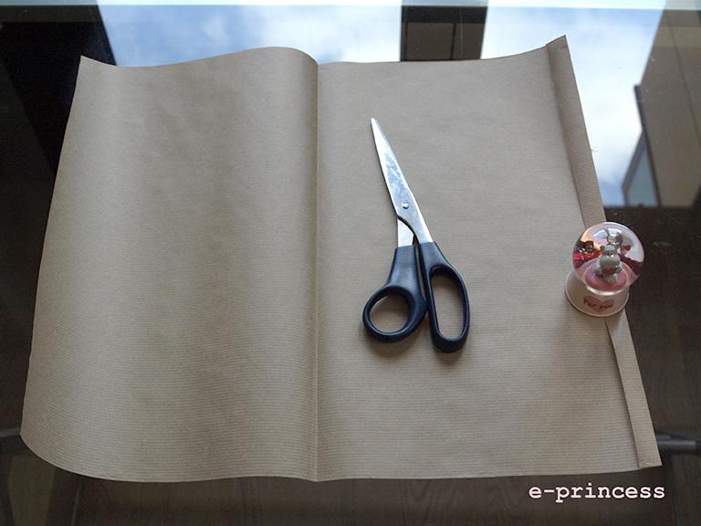 Cosas de princesas diy bolsa de papel para regalos caseros - Hacer bolsas de papel para regalo ...