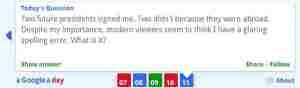 Juego de preguntas y respuestas de Google A Google a Day
