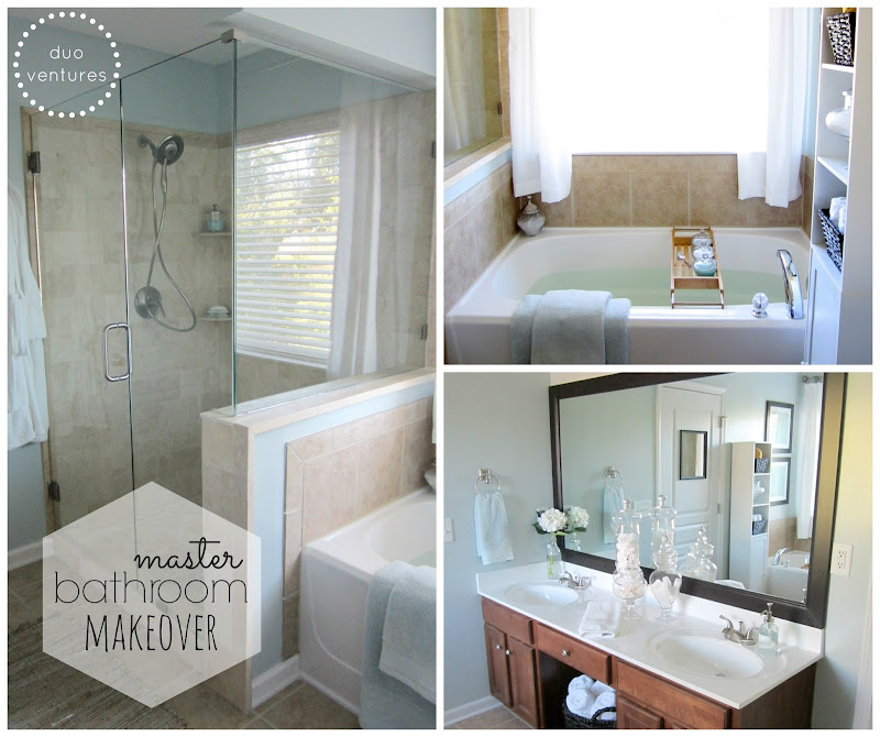 touches on our master bathroom & we are finally ready to show ya title=