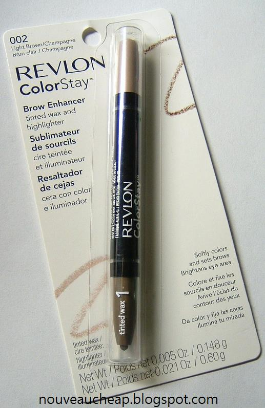 review  revlon colorstay brow enhancer in light brown