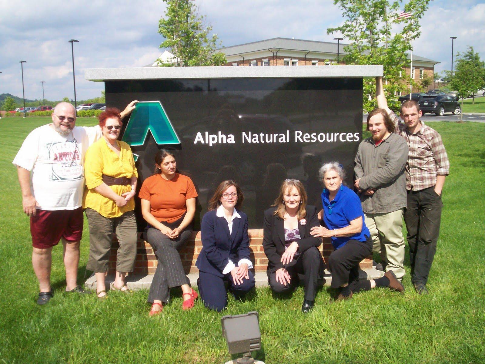Alpha Natural Resources Pax Wv