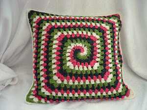 Groovy Granny Pillow