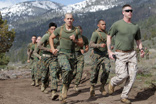 Midwest Marines: The Marine Corps' 14 leadership traits - ENDURANCE