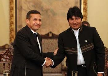 muy formal la presencia de Ollanta en el Palacio Quemado