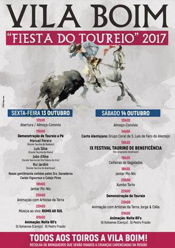 VILA BOIM (PORTUGAL) 13 Y 14 OCTOBRE 2017. FESTAS DO TOUREIO 2017.