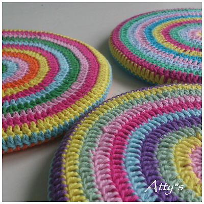 DIY Crochet Pot Coaster