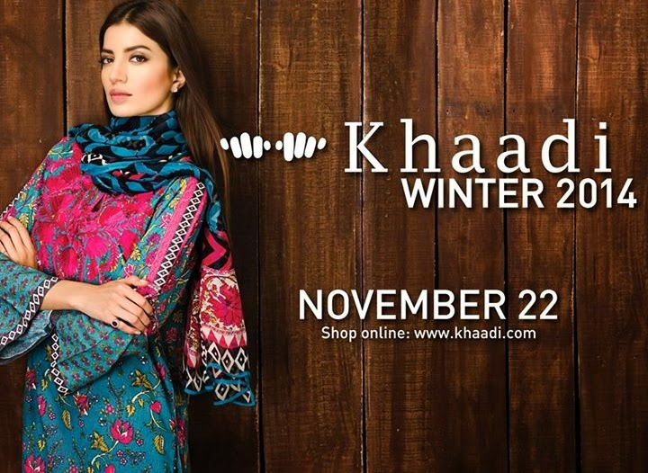 Khaadi - WINTER 2014/2015 Collection