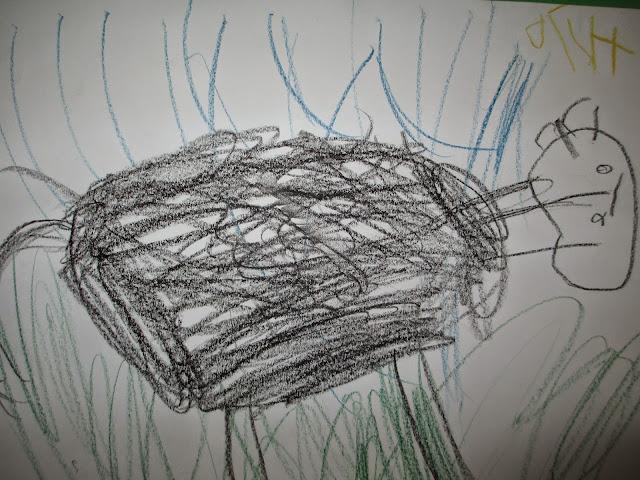 Pippi Langstrumpf hat ein Pferd - wie zeichne ich ein Pferd