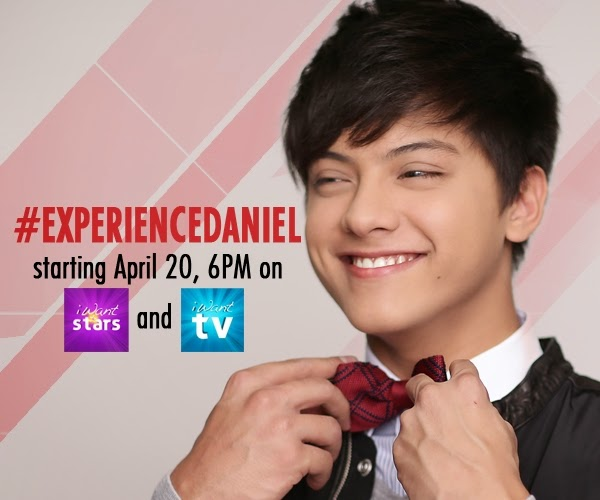 Experience Daniel Padilla in a Special ABS-CBN Mobile Show for 30 Days