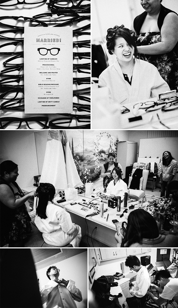 West Covina Christian Church documentary wedding photography bride getting ready