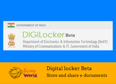 Digital locker system store documents