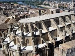La Catedral amb l'Ebre de fons
