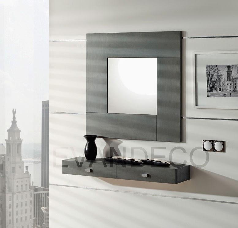 El mueble recibidor for Espejos de entrada modernos