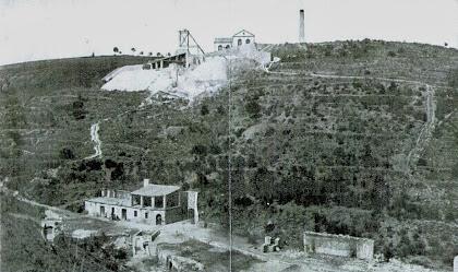 L'arxiu del CEM conserva l'única imatge coneguda de les instal·lacions mineres de Castellví de Rosanes, inaugurades tal i com les veiem el 24 de juny de 1907
