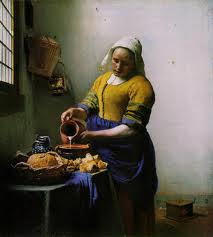 Vermeer painting The milkmaid