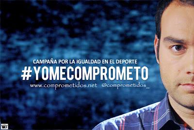 #Yomecomprometo Por la Igualdad en el Deporte
