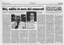 LA STAMPA 13 LUGLIO 1991